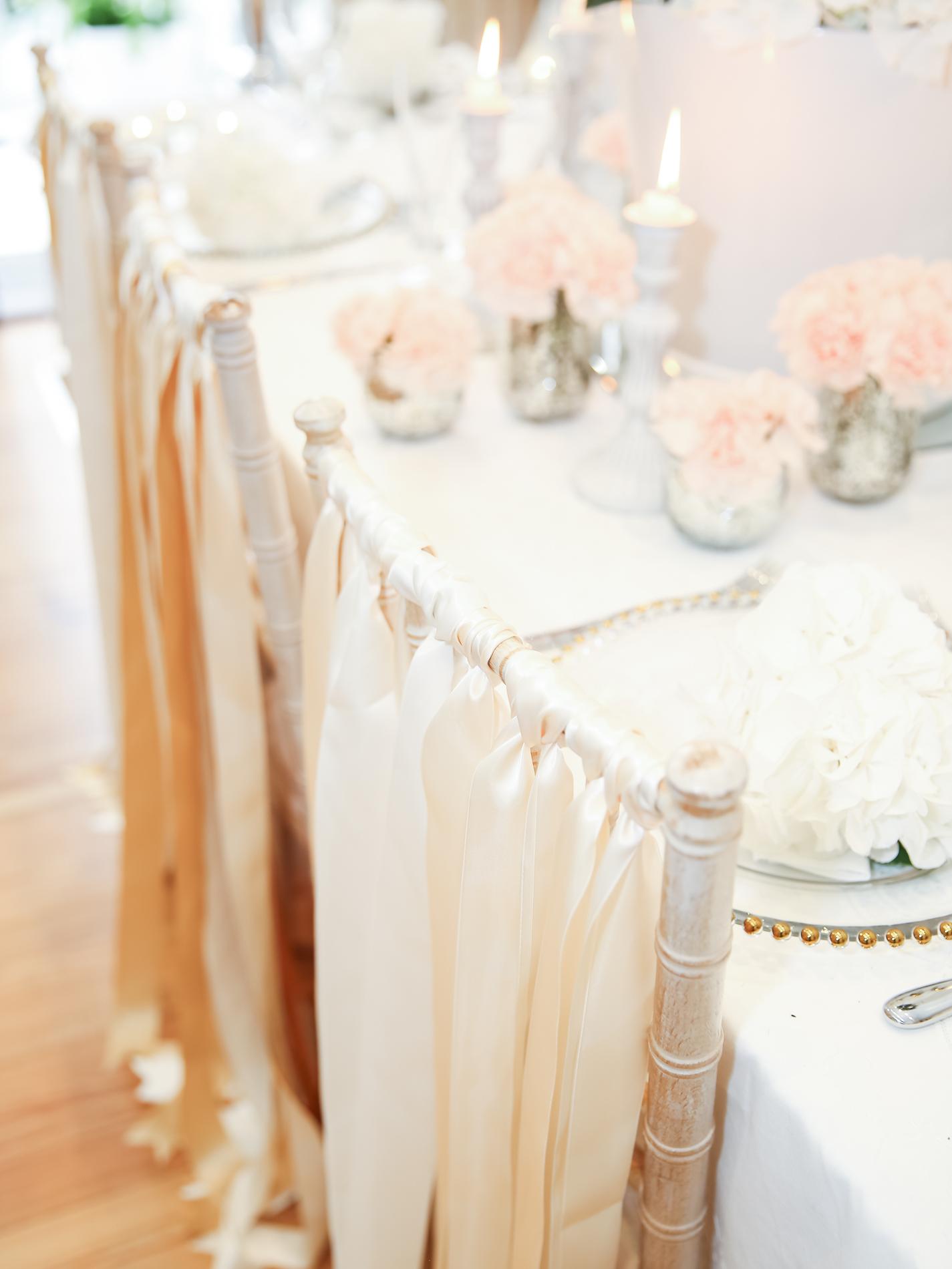 stylist, wedding stylist, chair ribbons, chair decor, wedding planner Yorkshire