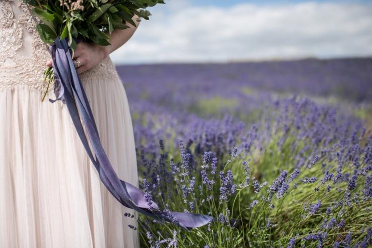 wedding planning,Cotswold lavender field,gettingmarried,blush wedding dress,