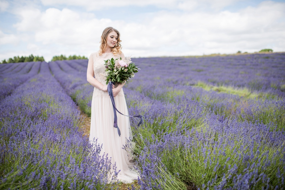 lavender,yorkshire wedding planner,getting married,lavender bouquet,silk ribbon