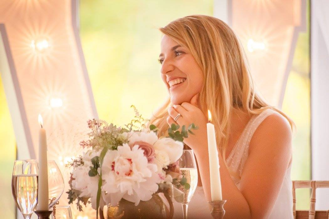 blushing bride,Amy Of Something New Wedding Planning,