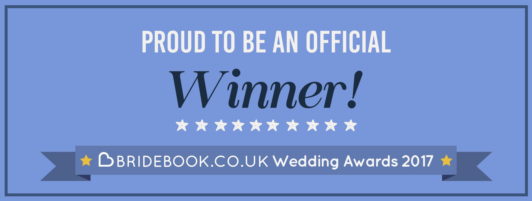 winner,wedding planner of the year,wedding award,uk wedding planner 2017,