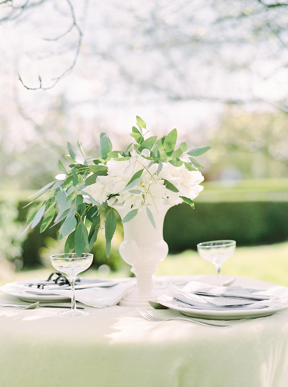 wedding centrepiece, wedding centerpiece,white peony centrepiece,