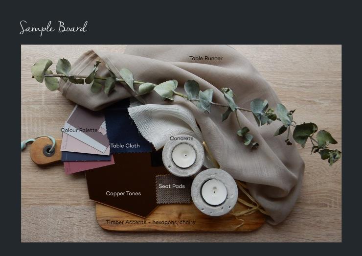 wedding sample board,wedding swatch,wedding design elements