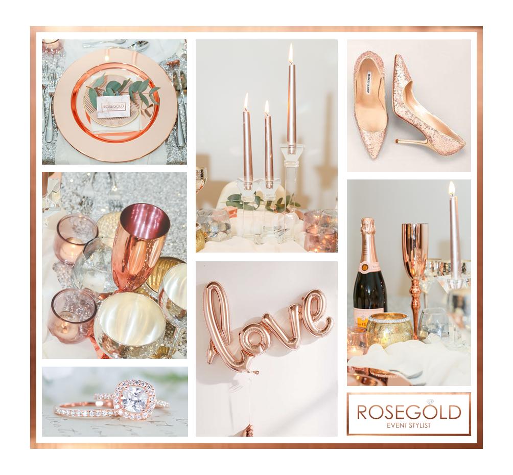client design brief,rose gold wedding design,rose gold wedding,