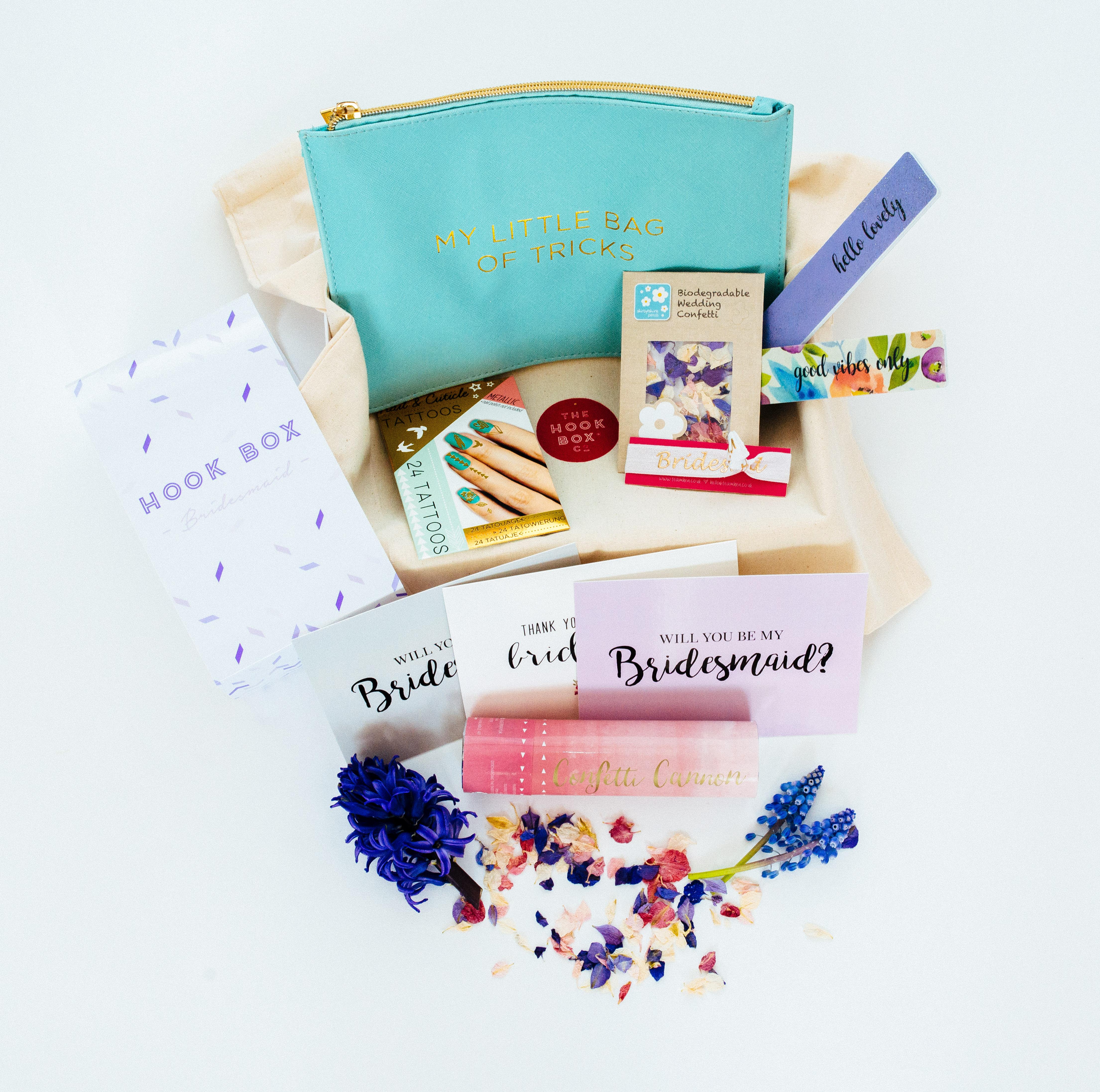 bridesmaid box,bridesmaid subscription bot,