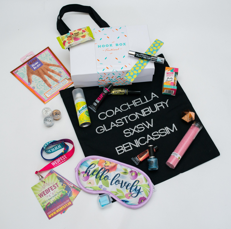 festival hook box,festival present,bridesmaid present,bridesmaid ideas,