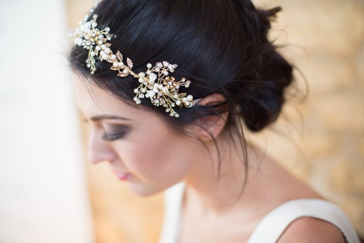 Bridal hair vine,Bespoke bridal hair accessory,