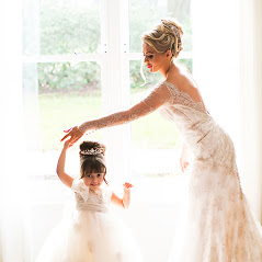 bride, rudding park, couture bridal gown, flower girl, rudding park,