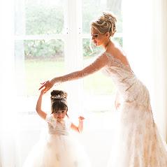 bride, rudding park, couture bridal gown, flower girl, rudding park,