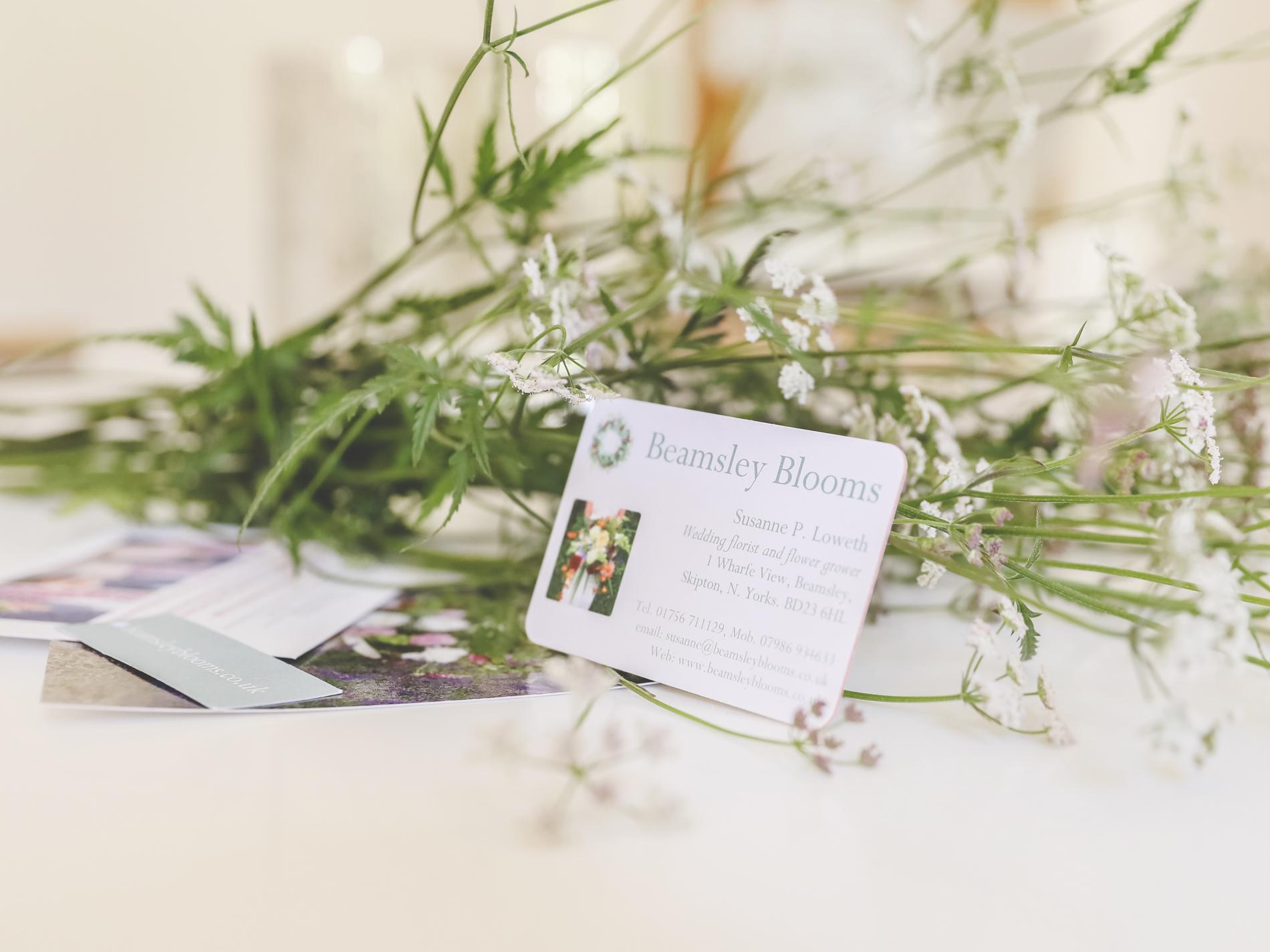 professional photographs, branding, wedding florist, yorkshire wedding business,
