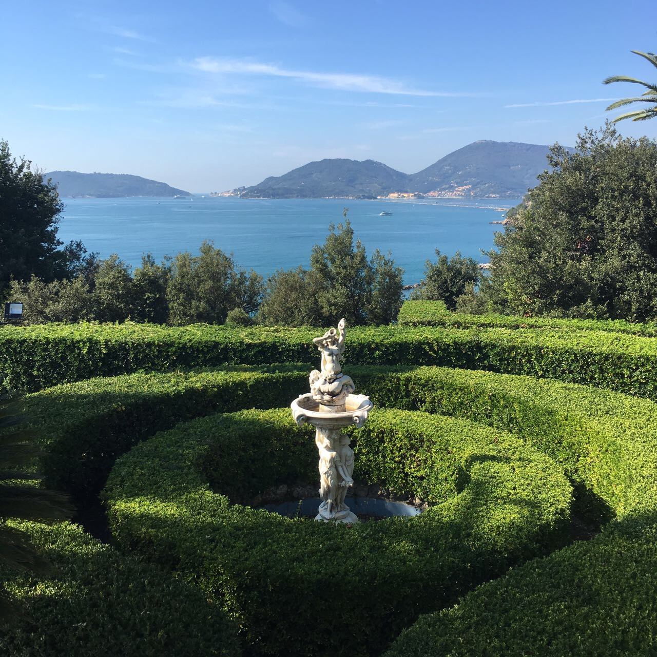 exquisite italian gardens, incredible riviera view, view of the sea, wedding venue with a view of the sea,